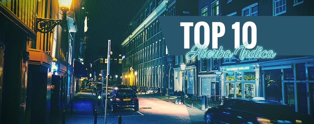 Top 10 De Coffeeshops Con La Mejor Hierba Índica De Ámsterdam