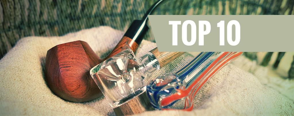 Top 10 De Pipas Para Fumar Hierba