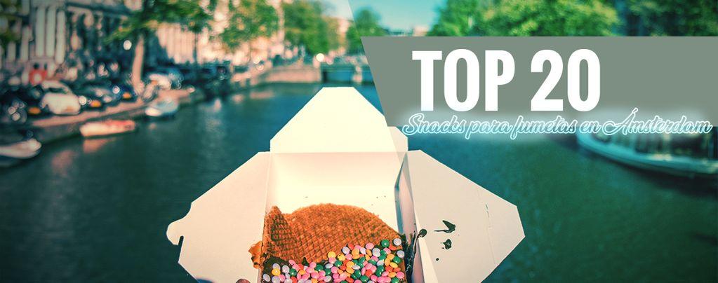 Snacks De Ámsterdam Para Fumetas