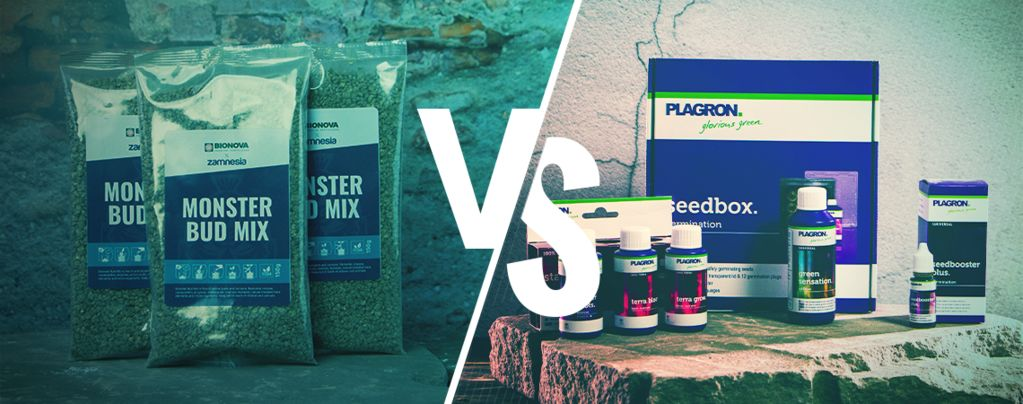 Comparación Entre Abonos Líquidos Y Fertilizantes Granulados