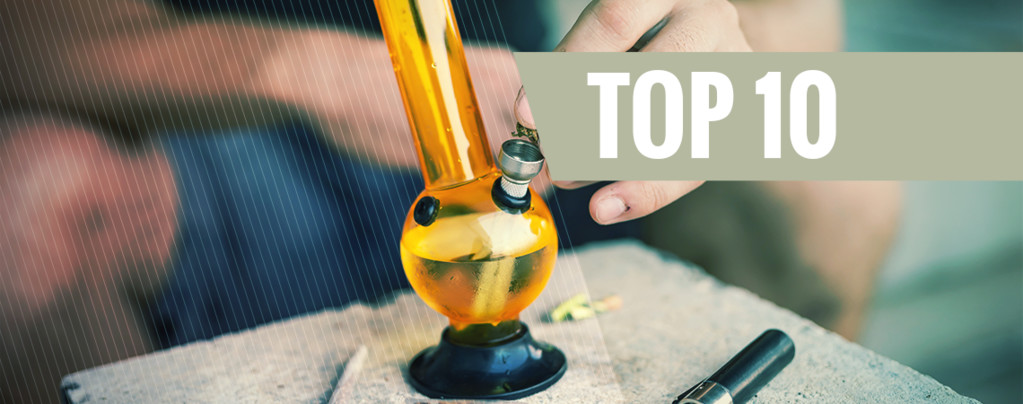 Top 5 de Alternativas Curiosas Para el Agua de un Bong