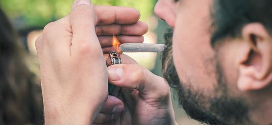 ¿Qué hace que la marihuana queme más rápida o más lentamente?