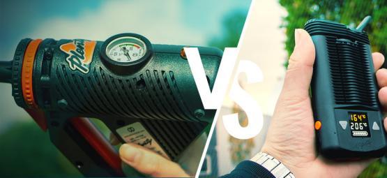 La diferencia entre vaporizadores portátiles y de escritorio
