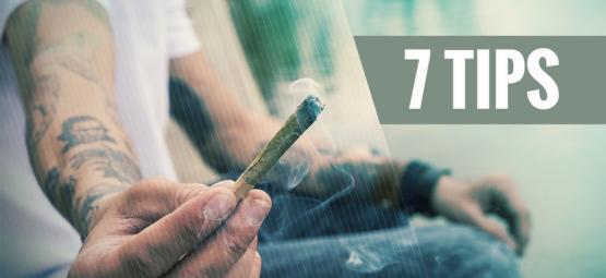 7 consejos para fumadores de marihuana novatos