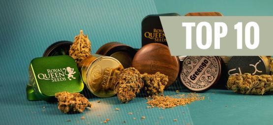 Top 10 De Grinders De Marihuana