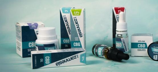 Top 5 De Nuevos Productos De Zamnesia CBD Para 2019