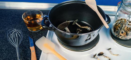 Cómo Utilizar Setas Mágicas En La Cocina