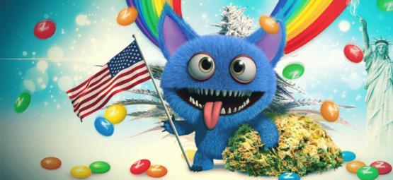 Monster Zkittlez: Cuando Se Combinan Grandes Genéticas Estadounidenses
