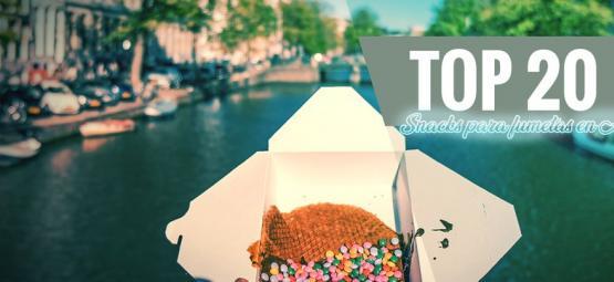 Los 20 Mejores Snacks De Ámsterdam Para Fumetas