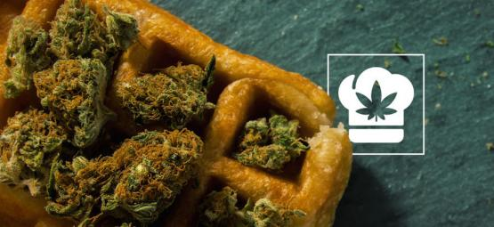 Gofres Con Cannabis: Para Las