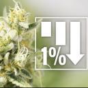 6 Variedades De Marihuana Con Un 1% De THC o Menos