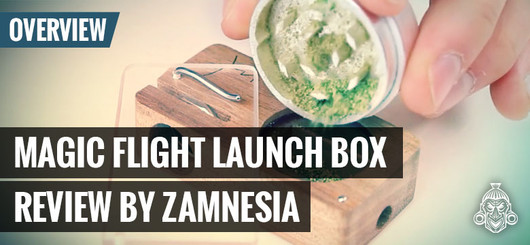 Vaporizador Magic Flight Launch Box - Análisis