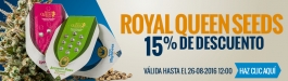 15% Descuento Royal Queen Seeds