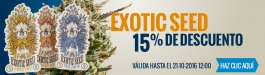 15% Descuento Exotic Seed